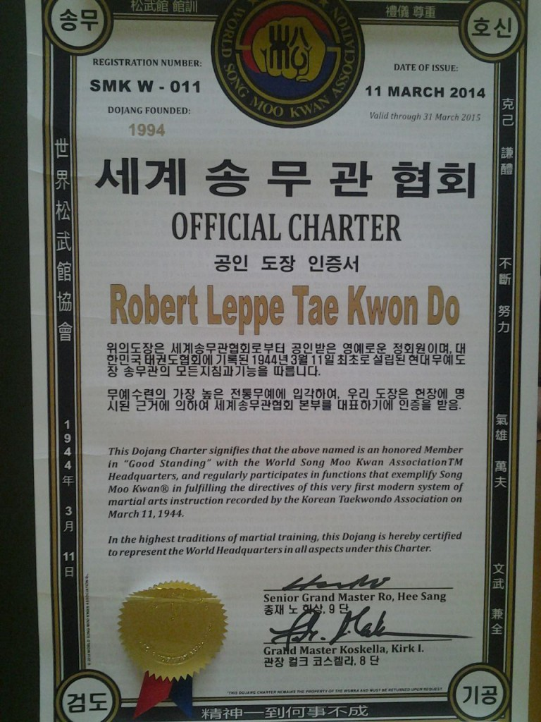 WSMKA Charter